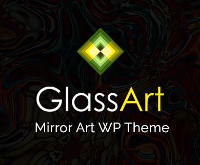 Glass Art - Mirror Art WordPress Theme & Template