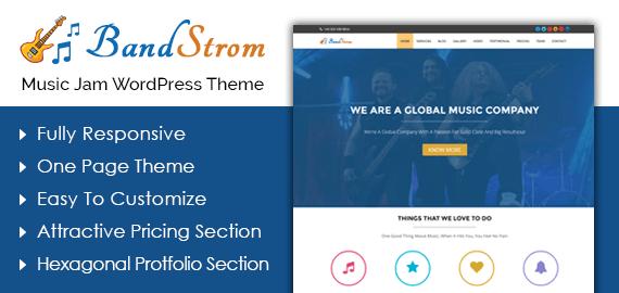 Music Jam WordPress Theme