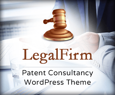 Legal Firm - Patent Consultancy WordPress Theme & Template