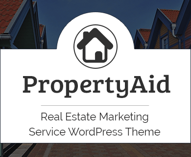 Property Aid - Real Estate Marketing Service WordPress Theme & Template