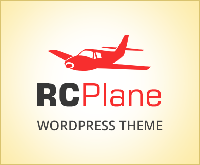 RC Plane - RC Airplanes Class WordPress Theme & Template