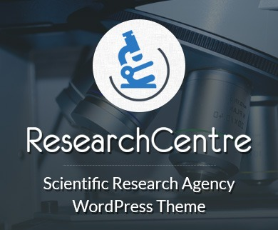 ResearchCenter - Scientific Research Agency WordPress Theme And Template