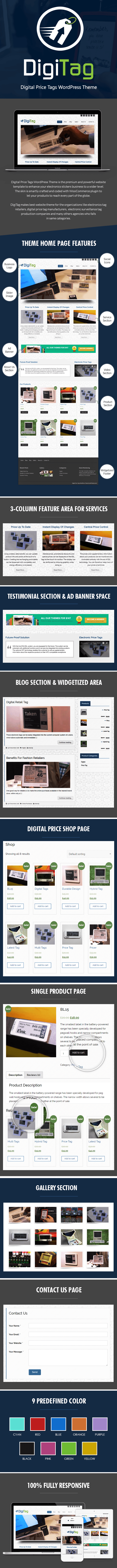 Digital Tag Price