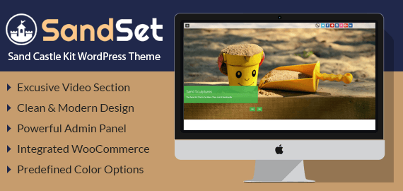 Sand Castle Kit WordPress Theme