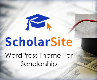 ScholarSite - Scholarship WordPress Theme & Template