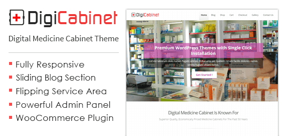 DigiCabinet – Medical Cabinet Sale WordPress Theme
