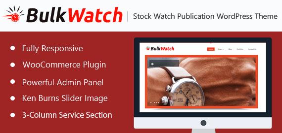 Stock Watch Publication WordPress Theme