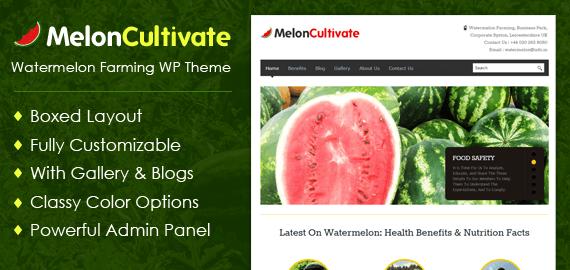 Watermelon Farming WordPress Theme