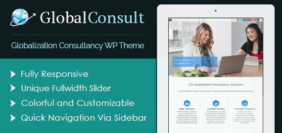 Globalization Consultancy WordPress Theme
