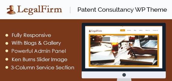 Patent Consultancy WordPress Theme & Template