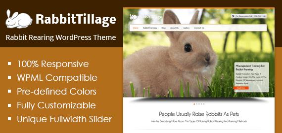 Rabbit Rearing WordPress Theme