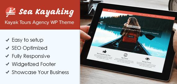 Kayak Tours Agency WordPress Theme