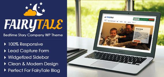 Bedtime Story Company WordPress Theme