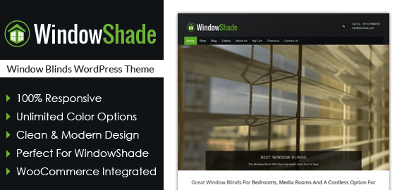 Window Blinds WordPress Theme