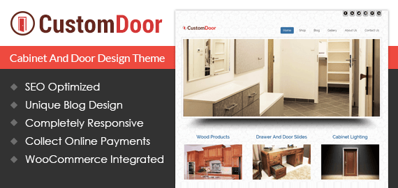 Cabinet And Door Design WordPress Theme  sc 1 st  InkThemes & Cabinet And Door Design Wordpress Theme u0026 Template | InkThemes