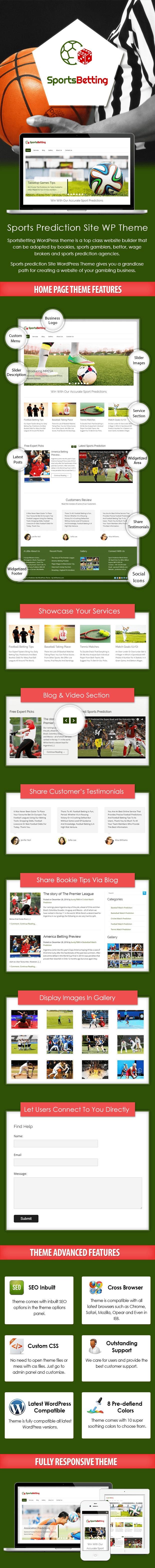 Sports Prediction Site WP Theme