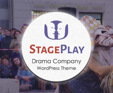 Stage Play - Drama Company WordPress Theme & Template