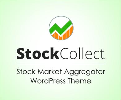 stock market aggregator site wordpress theme inkthemes