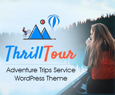 ThrillTour - Adventure Trips Service WordPress Theme & Template