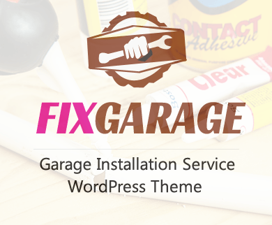 FixGarage - Garage Installation Service WordPress Theme & Template