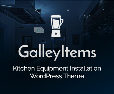 Galley Items - Kitchen Equipment Installation WordPress Theme & Template