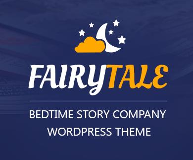 FairyTale - Bedtime Story Company WordPress Theme & Template