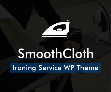 Smooth Cloth - Ironing Service WordPress Theme & Template