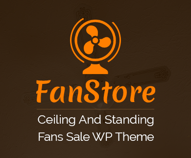 Fan Store - Ceiling And Standing Fans Sale WordPress Theme & Template