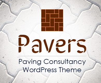 Pavers - Paving Consultancy WordPress Theme & Template