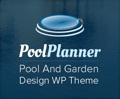 Pool Planner - Pool And Garden Design WordPress Theme & Template