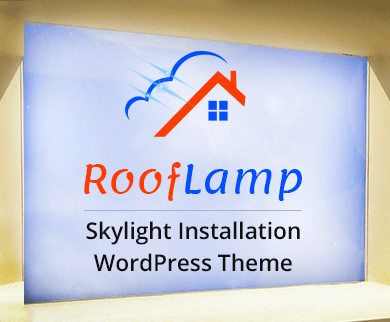 RoofLamp - Skylight Installation WordPress Theme & Template
