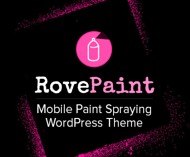 Rove Paint - Mobile Paint Spraying WordPress Theme & Template