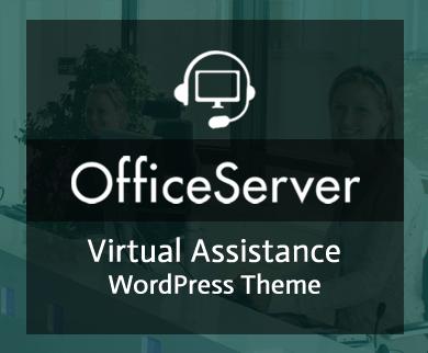 Office Server - Virtual Assistance WordPress Theme & Template