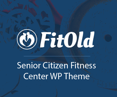 Fit Old - Senior Citizen Fitness Center WordPress Theme & Template