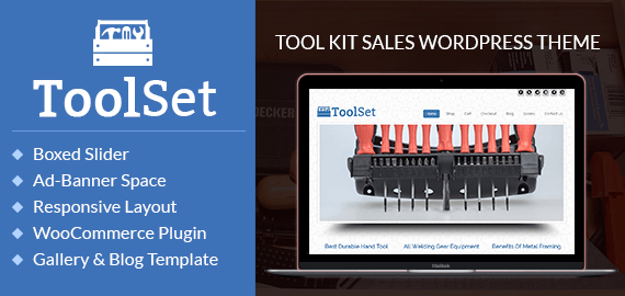 Tool Kit Sales WordPress Theme