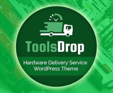 ToolsDrop - Hardware Delivery Service WordPress Theme & Template