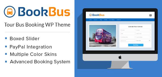 Tour Bus Booking WordPress Theme