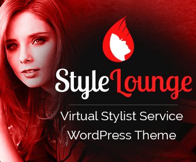 StyleLounge - Virtual Stylist Service WordPress Theme & Template