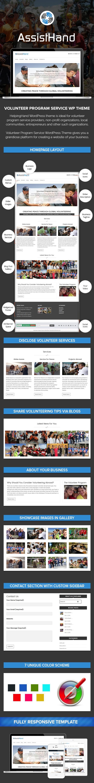 Volunteer Program Service WP Theme