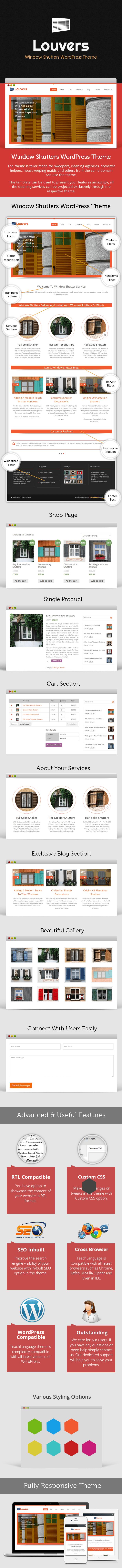 Window Shutters WordPress Theme