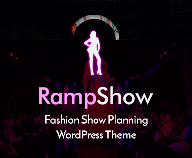 Ramp Show - Fashion Show Planning WordPress Theme & Template