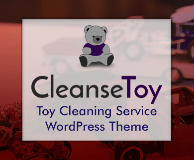 Cleanse Toy - Toy Cleaning Service WordPress Theme & Template