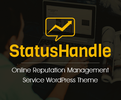 Status Handle - Online Reputation Management Service WordPress Theme & Template