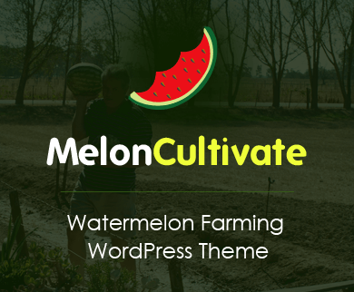 Melon Cultivate - Watermelon Farming WordPress Theme And Template