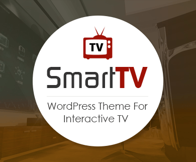 SmartTV - Interactive TV WordPress Theme & Template