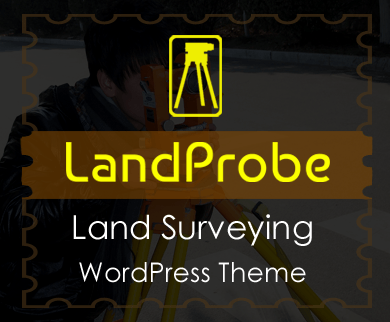 LandProbe - Land Surveying WordPress Theme & Template