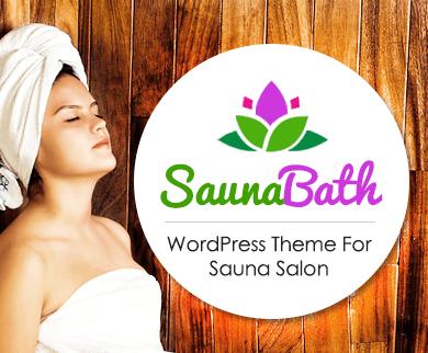 Sauna Bath - Sauna Salon WordPress Theme & Template
