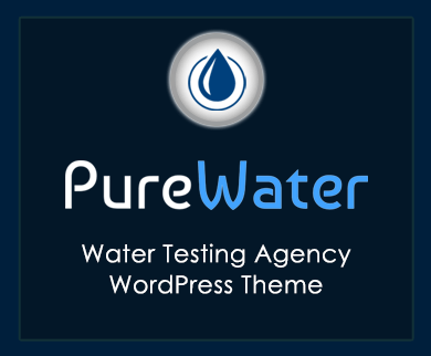 Pure Water - Water Testing Agency WordPress Theme & Template