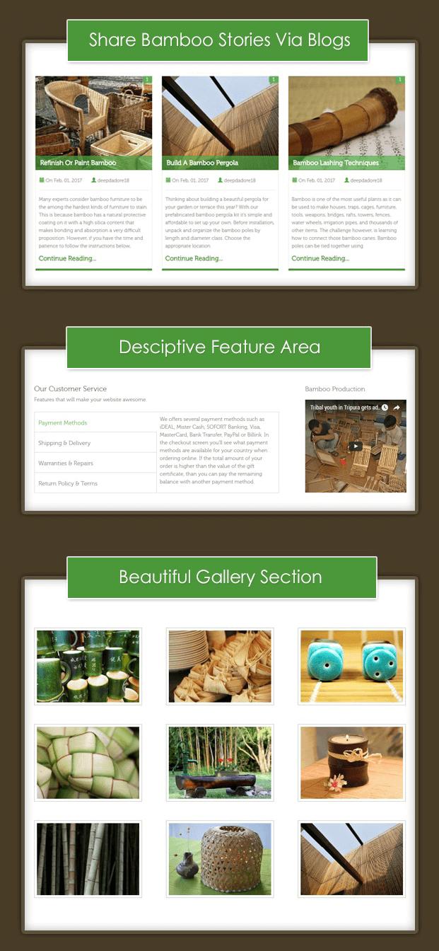 Blog - Bamboo Products WordPress Theme