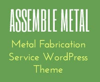 Assemble Metal - Metal Fabrication Service WordPress Theme & Template